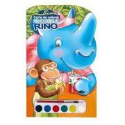 Rinocerul Rino. Miracolul acuarelei - Varsta recomanda 4-8 ani