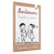 Activitati de citire - Montessori Insecte si pasari