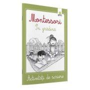 Activitati de scriere - Montessori In gradina