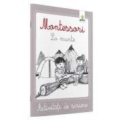 Activitati de scriere - Montessori La munte
