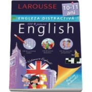 Larousse, Engleza distractiva 10-11 ani. Larousse - Activitati ludice, jocuri didactice, exercitii progresive
