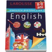 Larousse, Engleza distractiva 8-9 ani. Larousse - Activitati ludice, jocuri didactice, exercitii progresive