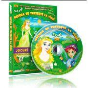 Natura se trezeste la viata. Jocuri educationale 3-7 ani, CD 5 - Colectia Eduteca