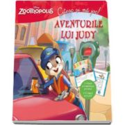 Disney, Zootropolis. Citesc si ma joc - Aventurile lui Judy. Citeste si completeaza povestea! E timpul sa te joci!
