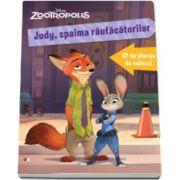 Disney, Zootropolis. Judy, spaima raufacatorilor. 32 de planse de colorat
