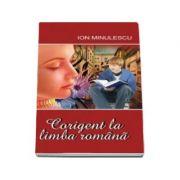Corigent la limba romana - Ion Minulescu