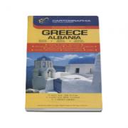 Harta rutiera Grecia, Albania
