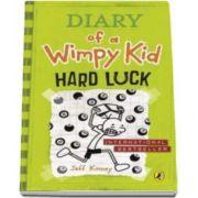 Jeff Kinney - Jurnalul unul pusti, Volumul 8 - In limba engleza. Diary of a Wimpy Kid Book 8 Hard Luck