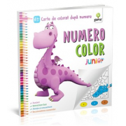 NumeroColor. Junior Plus - Carte de colorat dupa numere