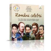 Pachet cultura - Romani Celebri. Cinci volume despre viata personalitatilor marcante ale culturii romane, povestite pe intelesul copiilor