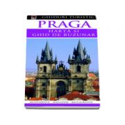 Praga - harta si ghid de buzunar