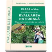 Elena Crocnan, Pregatire pentru evaluarea nationala 2016 la Matematica si stiinte ale naturii, clasa a VI-a