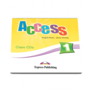 Access 1 Class CD, set 3 CD-uri. Curs Limba Engleza Beginner (A1) - Virginia Evans si Jenny Dooley
