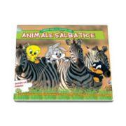 Animale salbatice. Cartea mea cu puzzle-uri - Baby Looney Tunes - Cu 5 puzzle-uri in interior