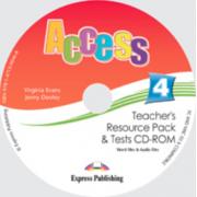 Virginia Evans, Curs de limba engleza Access 4 CD - Teachers Resource Pack CD-ROM cu Teste