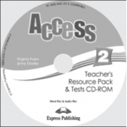 Virginia Evans, Curs de limba engleza pentru profesor Access 2 CD. Teachers Resource Pack CD-ROM cu Teste