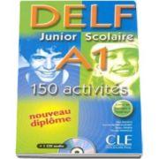 Curs de limba franceza, Delf junior et scolaire A1 - 150 activites - Corriges - Transcriptions - CD Audio