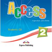 Virginia Evans, Curs limba engleza Access 2 - Students audio CD (Elementary A2)