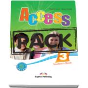 Virginia Evans, Curs limba engleza Access 3 Pachetul elevului. Students Book (+ ieBook), nivel Pre-Intermediate (B1)