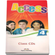 Curs Limba Engleza Access 4 Class CD. Set 4 CD-uri Intermediate (B1) - Virginia Evans si Jenny Dooley