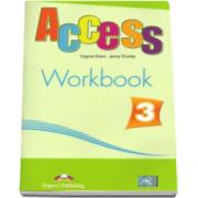 Curs limba engleza Workbook Access 3. Caiet de activitati al elevului nivelul Pre-Intermediate (B1) - Virginia Evans si Jenny Dooley