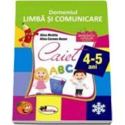 Alice Nichita, Domeniul Limba si comunicare. Caiet 4-5 ani