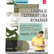 Camelia Gavrila, Limba si literatura romana - Concursuri, olimpiade si centre de excelenta, clasele 9-10 (liceu)