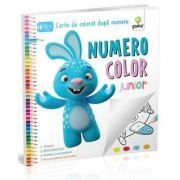 NumeroColor Junior - Carte de colorat dupa numere