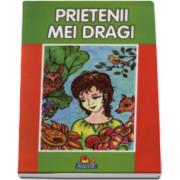 Prietenii mei dragi - Carte ilustrata de colorat