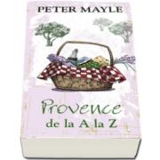 Peter Mayle, Provence de la A la Z - Carte de buzunar