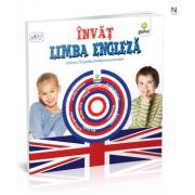 Invat limba engleza - pentru varstele 3-7 ani. Contine CD