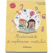 Cristina Iordache - Matematica si explorarea mediului, caiet de lucru pentru clasa I-a