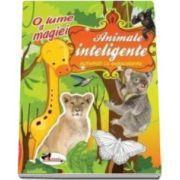 Activitati cu autocolante - Animale inteligente