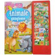 Animale galagioase. Carte cu sunete