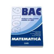 Petriceanu Daniel - Bacalaureat 2016, Matematica