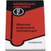 Basme populare romanesti. Colectia Biblioteca elevului