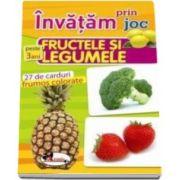 Carti de joc educative - fructele si legumele