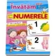 Carti de joc educative - Invatam prin joc numerele