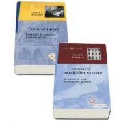 Colectia de autor Aurel I. Rogojan - Fereastra serviciilor secrete. Romania in jocul strategiilor globale si Factorul intern. Romania in spirala conspiratiilor