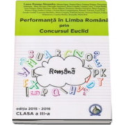Laura Roxana Alexandru - Concursul Euclid, clasa a III-a. Performanta in Limba Romana - Editia 2015-2016