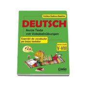 Limba germana. Exercitii de vocabular pe baza textelor pentru clasele V-VIII