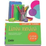 Limba romana - Caiet de lucru pentru clasa a VI-a (Mihaela Daniela Cirstea)