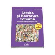 LIMBA SI LITERATURA ROMANA. Teste de evaluare pentru clasa a VII-a - Sugestii de rezolvare
