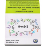 Laura Roxana Alexandru - Performanta in Limba Romana prin Concursul Euclid, clasa a 2-a - Editia 2015-2016