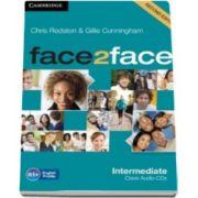 Chris Redston - Face2Face Intermediate 2nd Edition Class Audio CDs (3) - Pentru clasa a XI-a
