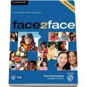 Chris Redston - Face2Face Pre-intermediate (2nd Edition) Students Book with DVD-ROM - Manualul elevului pentru clasa a XI-a (Contine DVD)