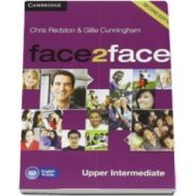 Chris Redston - Face2Face Upper Intermediate 2nd Edition Class Audio CDs (3) - CD Audio pentru clasa a XII-a (L2)