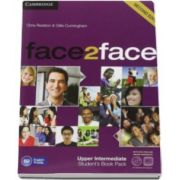 Chris Redston - Face2Face Upper Intermediate 2nd Edition Students Book with DVD-ROM and Online Workbook Pack - Manualul elevului pentru clasa a XII-a L2 (Contine DVD)