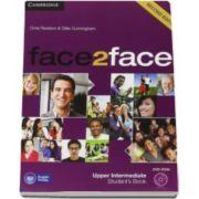Chris Redston - Face2Face Upper Intermediate 2nd Edition Students Book with DVD-ROM - Manualul elevului pentru clasa a XII-a L2 (Contine DVD)