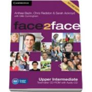Chris Redston - Face2Face Upper intermediate 2nd Edition Testmaker CD-ROM and Audio CD - Pentru clasa a XII-a L2